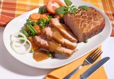 Rôti de porc Image stock