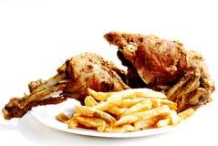 Rôti de poulet Photo libre de droits