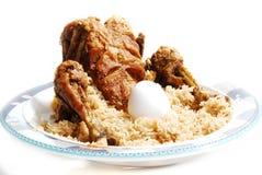 Rôti et riz Images stock
