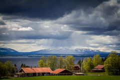Rödön. Village of Rödön in Jämtland Sverige Stock Images