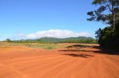 Röd öken i Santa Maria Fotografering för Bildbyråer