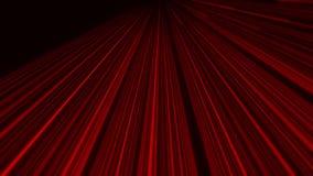 röd abstrakt bakgrund för Intro för rörelse för ögla för animering VJ för kub 3D vektor illustrationer