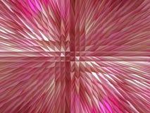 Röd abstrakt bakgrund med skarpa taggar Arkivfoto