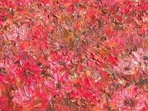 röd abstrakt begrepp som målas Arkivfoton
