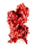 Röd abstrakt konst Royaltyfri Fotografi