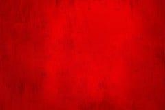 Röd abstrakt kornbakgrund Royaltyfria Bilder