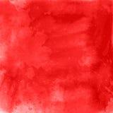 Röd akvarellbakgrund royaltyfri illustrationer