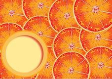 Röd apelsin Arkivfoto