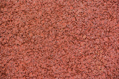 Röd asfalttrottoar Royaltyfri Bild