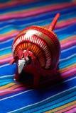 Röd bältdjur Royaltyfria Foton