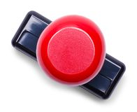 Röd bästa sikt för Stamper arkivfoto