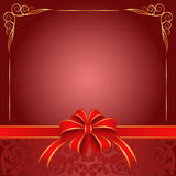 Röd bakgrund Royaltyfria Bilder