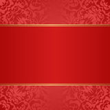 Röd bakgrund Royaltyfri Fotografi