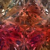 Röd bakgrund av smyckengemstonen Arkivbild