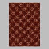 Röd bakgrund för broschyr för prickmodell - design för vektorbrevpappermall Arkivfoton