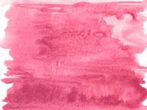 Röd bakgrund för papper för blommavattenfärgtextur, härlig idérik planet vektor illustrationer