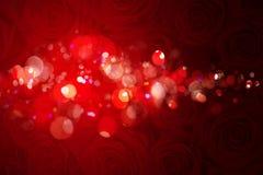 Röd bakgrund för valentindag royaltyfri illustrationer