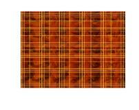 Röd bakgrund i den skotska buren Royaltyfri Bild