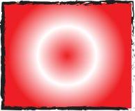 Röd bakgrund med den vita radiella linjen gräns Fotografering för Bildbyråer