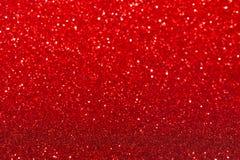 Röd bakgrund med mousserar Royaltyfri Fotografi