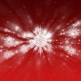 röd bakgrundsjul Arkivfoto