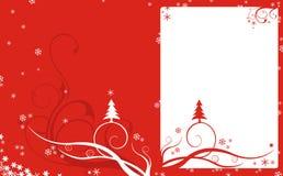 röd bakgrundsjul Royaltyfri Bild