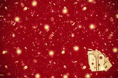 röd bakgrundsjul arkivfoton