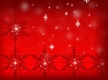 röd bakgrundsjul nytt år för bakgrund Arkivfoto