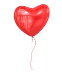 Röd ballong Stock Illustrationer