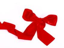 röd bandscarf Royaltyfri Fotografi