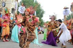 Röd Batik Fotografering för Bildbyråer