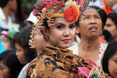 Röd Batik Arkivbilder