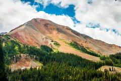 Röd bergskedja, Colorado Arkivbild