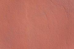 Röd betongvägg Royaltyfria Foton