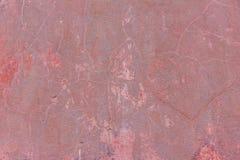 Röd betongvägg abstrakt bakgrundsred Arkivbilder