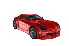 Röd bil Arkivfoton