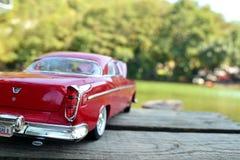 Röd bil Royaltyfri Bild