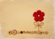 Röd blomma Royaltyfri Foto
