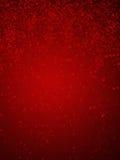 Röd bokeh Royaltyfri Foto