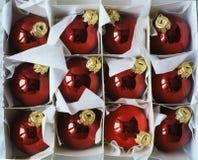 röd bolljul Royaltyfria Bilder