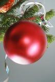 röd bolljul Royaltyfri Bild