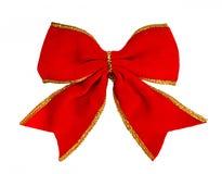Röd bow, Royaltyfria Foton