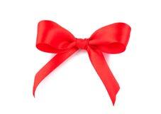 Röd bow Royaltyfri Bild