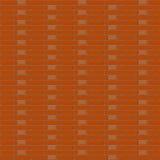 Röd brickwallbakgrund - vektorillustration Arkivbilder