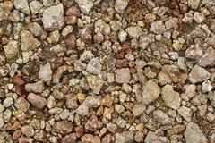 Röd brun tegelsten eller texturerad bakgrund för stenvägg royaltyfria bilder