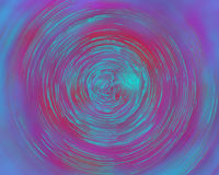 röd bubbelpool Arkivfoton