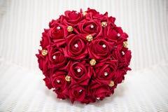 Röd bukett Royaltyfria Bilder