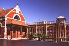 Röd byggnad Royaltyfri Bild