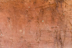 röd cementväggtextur Royaltyfri Fotografi