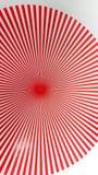 Röd cirkelbristning Royaltyfria Foton